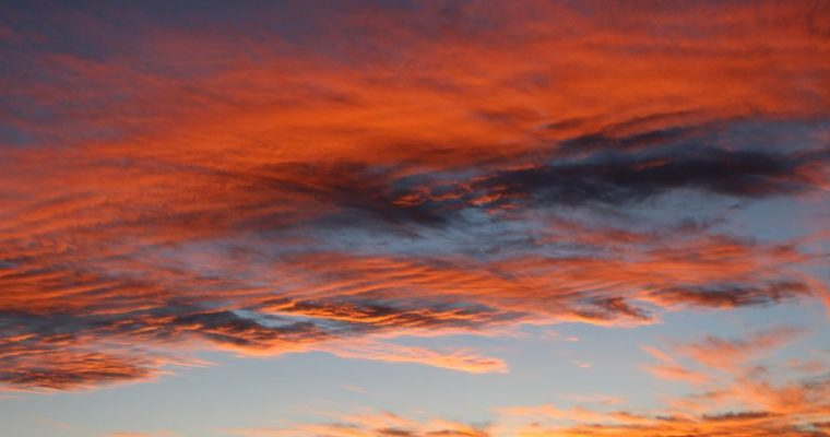 Sunset in Chile's Atacama Desert